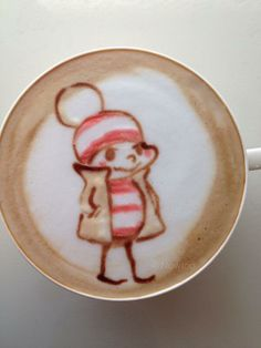 Moyoco Anno's character Latte, Japan