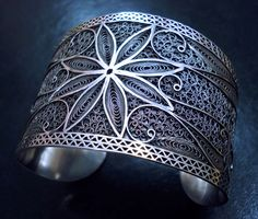 Silver Filigree Braselets 2011. €250.00, via Etsy.