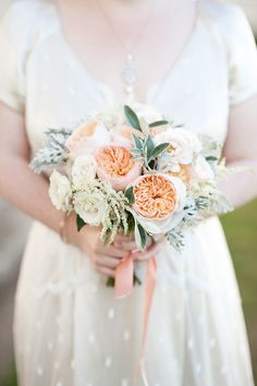 English Rose, Astilbe Bouquet