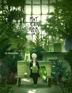 ILLUSTRATIONS - Nadia Kim Mein Land, Natsume Yuujinchou, Environment Concept Art, All Nature, Kawaii Art, Environmental Art, Aesthetic Art, Cartoon Art, Cute Drawings