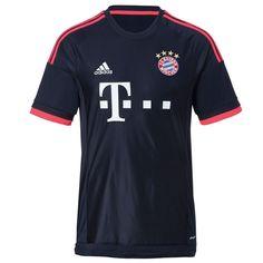 f11ce670df93 adidas Bayern Munich Third Jersey 15 16 Football Shirts