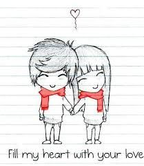 Risultati immagini per cute love drawings for your boyfriend