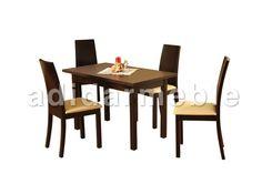 FABIO Stół + 4 krzesła, galeria zdjęć