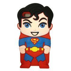 Minidandan Red 3d Hero Superman iPhone case