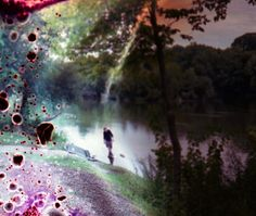 Images Distorted By Gasoline   Peter Hoffman inspiration