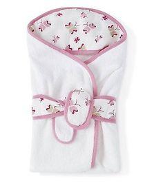 aden + anais Baby Bath Wrap, Princess Posie