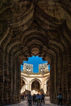 Batalha Monastery Door, Portugal // by Nuno Trindade on 500px
