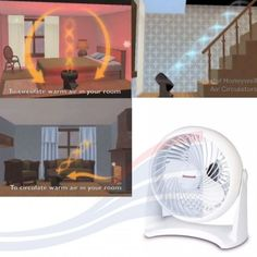 Air-Circulator-Fan-Room-Floor-Table-Top-Portable-Cooling-Reduced-Noise-Desktop