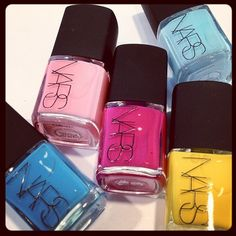 Behold the Thakoon for NARS nail color collection.