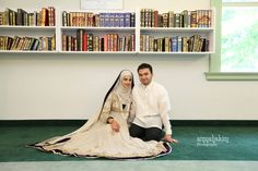 White Wedding Details - Indian muslim Wedding
