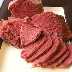 Dad's corned beef - British version using silverside beef joint Cooking Corned Beef, Slow Cooker Corned Beef, Corned Beef Recipes, Pork Recipes, Slow Cooker Recipes, Cooking Recipes, Crockpot Recipes, Recipies, Recipes