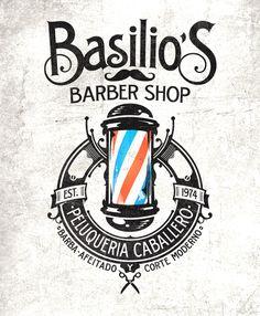 BurnClan Kustom Graphics | The Artworks of Alex Patrocinio | Barcelona | Basilio´s Barber Shop