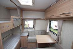 Coachman Vision 570 6 Berth Caravan 2014 Model Image 6 Berth Caravan, Caravans For Sale, Derbyshire, Loft, Create, Bed, Building, Model, Furniture