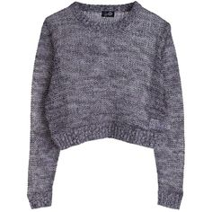 Nikki sweater ❤ liked on Polyvore featuring tops, sweaters, shirts, jumper, knit sweater, sheer shirt, long grey sweater, short sleeve sweater and grey shirt