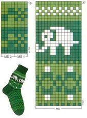 Jacquard elephant pattern: 10 thousand of . Jacquard elephant pattern: 10 thousand from … – # Jacquard # of # Elephant # Scheme # t Knitting Blogs, Knitting Charts, Knitting For Beginners, Knitting Socks, Knitting Stitches, Knitting Patterns Free, Free Knitting, Knitting Projects, Crochet Socks