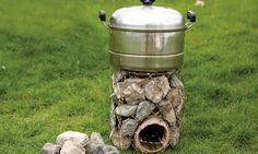 12 Rocket Stove Plans to Cook Food or Heat Small Spaces   The Self ...