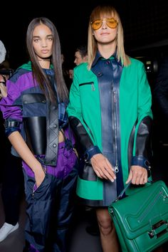 No one knows their audience like Donatella Versace, and for her Spring show she delivered a supermodel-filled lineup.