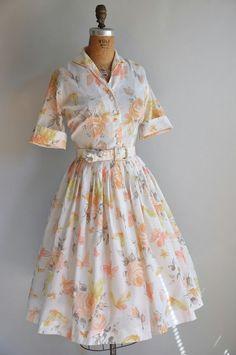 1950s vintage dress - simplicityisbliss