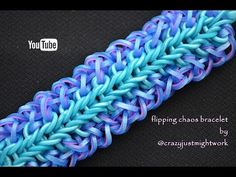 FLIPPING CHAOS BRACELET HOOK ONLY DESIGN TUTORIAL - YouTube