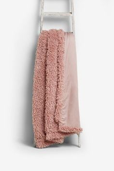 Buy Borg Throw from the Next UK online shop Faux Fur Throw, Next Uk, Uk Online, Two Piece Skirt Set, Stylish, Cosy, Stuff To Buy, Shopping, Pink
