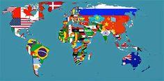 le mappe del mondo che non vedrai mai a scuola