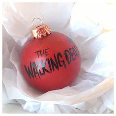 The Walking Dead Christmas ornament, walker in a winter wonderland ...