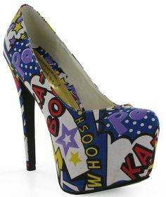 Chockers super hero shoes