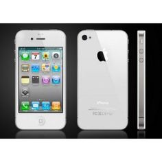 The Apple iPhone 4 - 16 GB Smartphone is a cutting-edge smartphone for users who demand excellence in mobile phone technology. The Apple iPhone 4 Smartphone measures mm (height) x mm (width) x mm (depth) and weighs 137 grams. Iphone 4s, Apple Iphone, Iphone 5s Noir, Buy Iphone, Free Iphone, Iphone 8 Plus, Iphone Deals, Unlock Iphone, Iphone 4 White