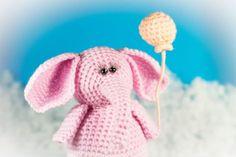 Learn how tocrochet Amigurumi Elephant using our easy free crochet pattern.