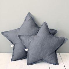 Cojín Estrella Gris Oscuro B&S