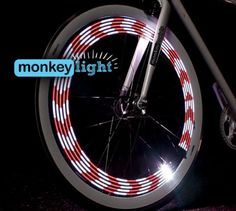 Mini Monkey Light - 8-Bit Bike Light