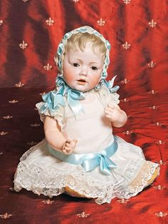 """""""HILDA"""" GERMAN BISQUE BABY BY KESTNER."""