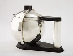 "JEAN E. PUIFORCAT | Teapot ""Tête à tête,"" ca. 1928 
