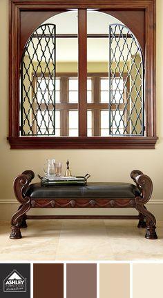 Traditional Tones. North Shore Bench - Ashley Furniture HomeStore