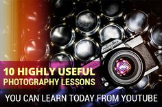 Photography lessons on youtube