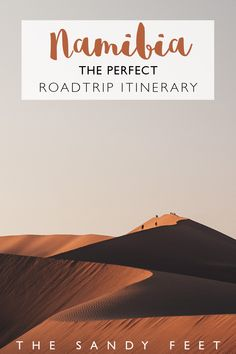 The Perfect Roadtrip Itinerary For Namibia #namibia #roadtrip #africa #travel #itinerary Self Drive Itinerary For Namibia | Visiting Sossusvlei and Deadvlei in Namibia | The Best Places To Visit In Namibia | Where To Go In Namibia | Namibia Self Drive Routes | Highlights of Namibia