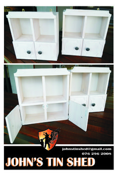 White washed cabinets Tin Shed, Custom Woodworking, Cabinets, Storage, Furniture, Home Decor, Armoires, Purse Storage, Decoration Home