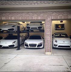 Originally Posted by Corona-Extra sneak peak of SW's new garage.I can only wonder how it will Garage House, Car Garage, Garage Design, House Design, Porsche Sportwagen, Garage Pictures, Ultimate Garage, Cool Garages, Garage Interior