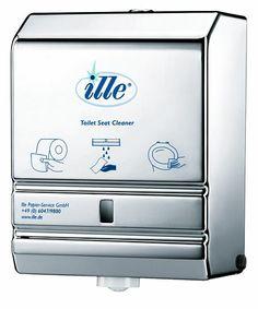 Dispenser dezinfectant colac WC, dupa utilizare capacul wc-lui e ca si nou !