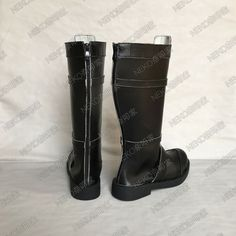Star Trek Discovery Michael Burnham Black Boots Cosplay Shoes:Free shipping