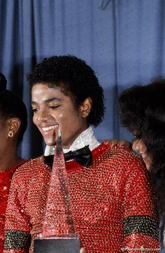 Michael Jackson at the AMA's 1981