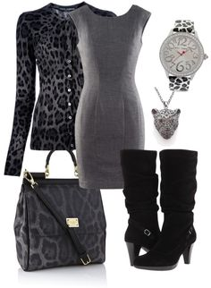 """Lovely Leopard"" by eimajpa on Polyvore"