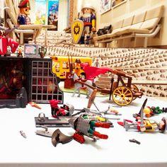 아이들이 체험하고 휩쓸고 간 플레이모빌 #토이키노 #장난감박물관 #장난감 #플레이모빌 #playmobil #toy