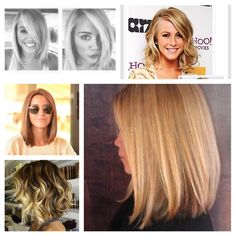 Long bobs! Short hair is in for the winter. Will you do the cut?