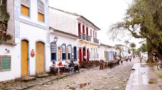Paraty, Brazil. #destinations #travel Stone Street, Wonderful Places, Brazil, Costa, Backdrops, National Parks, Destinations, Street View, The Incredibles