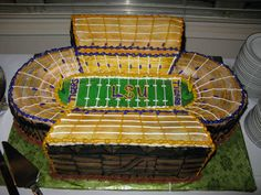 Sports Themed Cakes, Themed Birthday Cakes, Boston Red Sox Logo, Tiger Stadium, Ipad, How To Make Cake, Cake Designs, Cupcake Cakes, Wedding Cakes