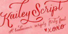 Kailey - Webfont & Desktop font « MyFonts
