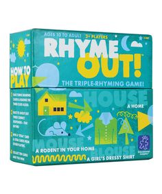 This Rhyme Out Game by Educational Insights is perfect! #zulilyfinds