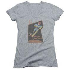 Scorpion - Proton Arnold Poster Print Junior V-Neck T-Shirt