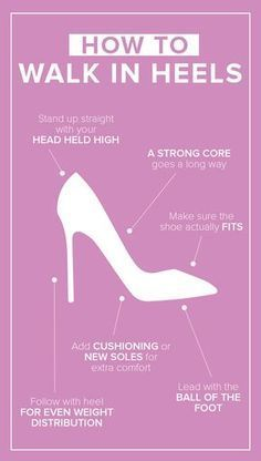 Ever wonder how celebrities walk effortlessly in their sky-high stilettos? Turns out it's not so hard after all. These tips and tricks will teach you how to walk in heels.
